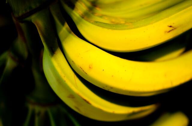 bananas sombreadas