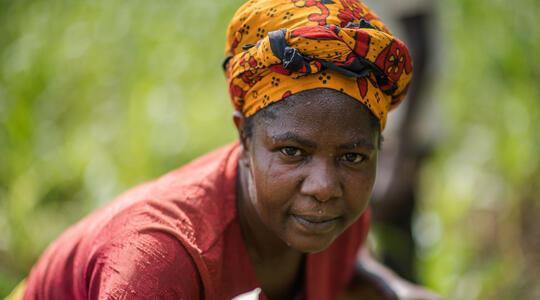 Farmer Anastancia Were Kulundu's portrait