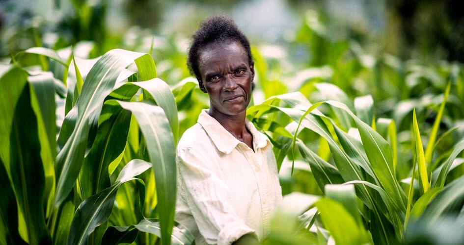 Farmer Agnes Atoko